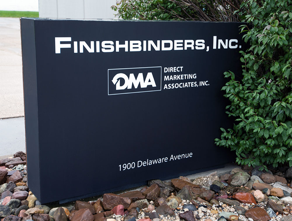 Finishbinders Sign
